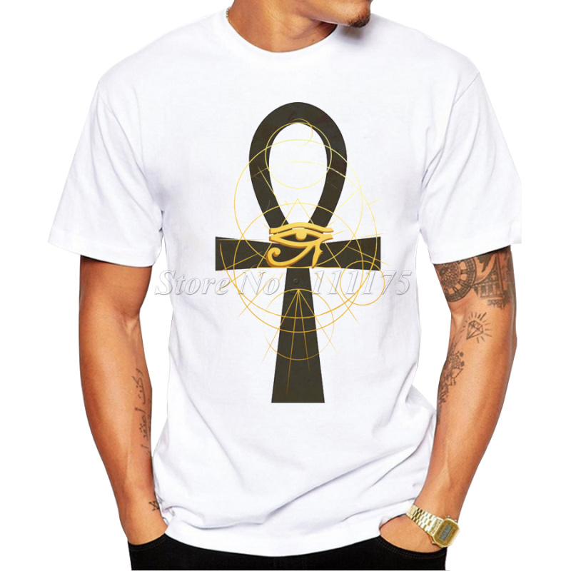 2017 summer fashion egyptian symbols design t shirt men 39 s for Custom printed dress shirts
