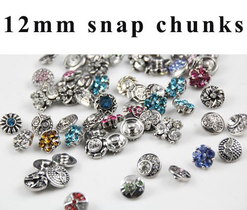 ᐅ50 unids/lote mezcla muchos estilos pequeño 12mm metal nuevo botón ...