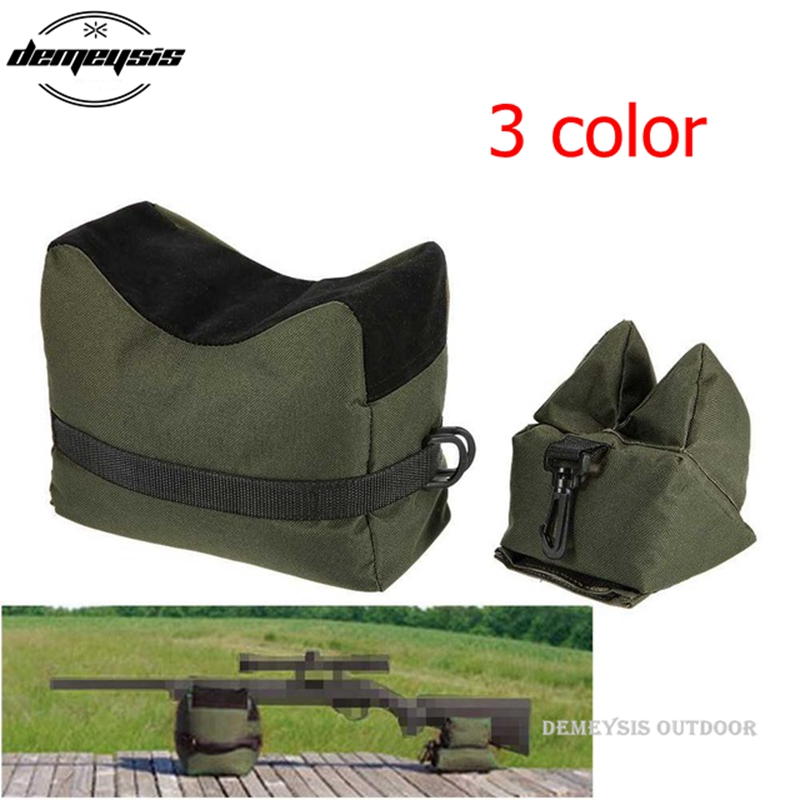 Unfilled Outdoor Hunting Bag Sniper Shooting Bag Gun Front Rear Bag Rest Target Stand Rifle Support Sandbag Bench