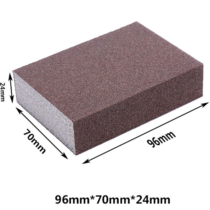 Houseeker Nanometer Diamond Sand Descaling Magic Pan Pot Double Side Polishing Sponge Sandpaper Sand Polishing Sponge