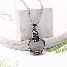 Mcllroy men necklace/vintage/stainless steel/chain necklace for women long retro pendants necklace punk jewelry 2019 collar(China)