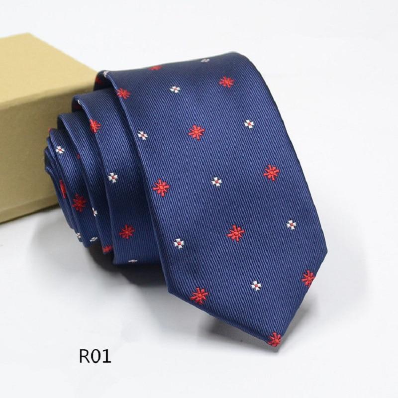a2d0eeeff5f06 Vente Classique Aiguilles Hommes Cravate 6 cm Bande Cravate Plaid Rayé De  Noce D affaires Gravatas Cravates pour hommes Jacquard mince Cravate Pas  Cher En ...