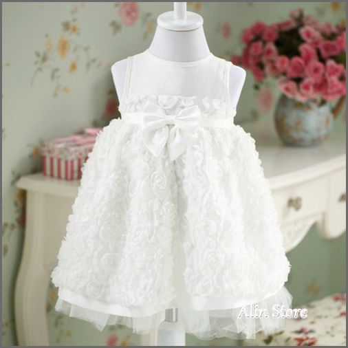 Online buy wholesale white christening gown from china for Making baptism dress from wedding gown