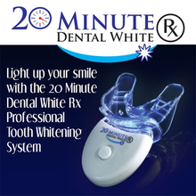 20 Minute Dental White Tooth Cleaner Oral Care Cold Light Teeth Whitening Kit LED Light Hea