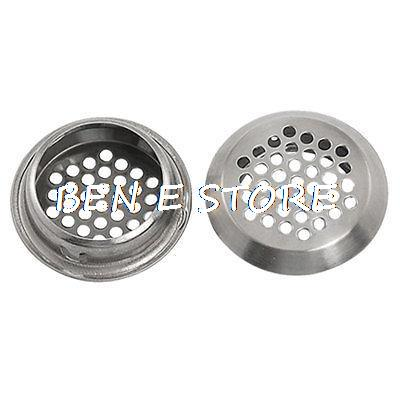 2 Pcs Stainless Steel 37 Holes Air Vent For Auditorium