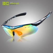 Basecamp marco Tr90 ciclismo proteja respirar libremente sol de aire de 6 pares de lentes ciclismo gafas de sol Bycicle