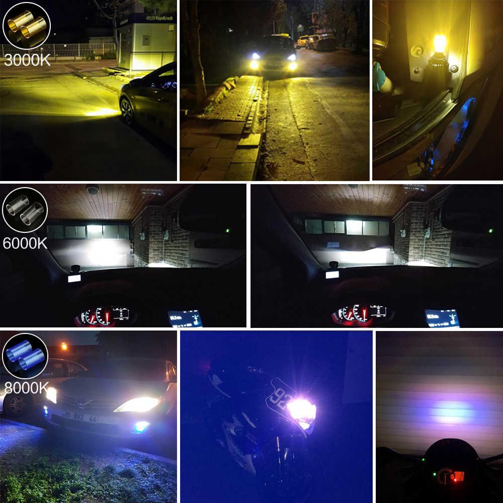 Zdatt светодиодный H4 H11 H7 Светодиодный лампочки Canbus 9005 9006 H8 H9 100W 12V светодиодные лампы 12000LM светильник лампы для автомобилей 3000 К 6000 8000 К рабочий светильник