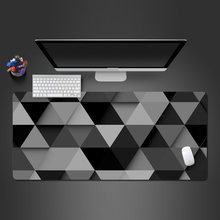 Hot Creative Prismatic Personality Mouse Pad Advanced Lockable Washable Rubber Mousepad Gamers Big Play Pad High Quality Mats