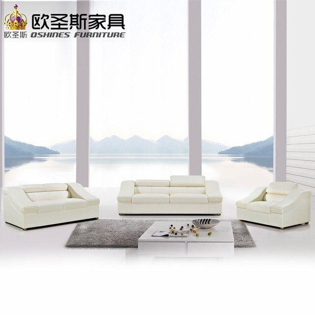 Color beige moderno sofá perezoso muebles de sala sofá de cuero ...