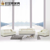 Beige Color Modern Lazy Sofa Living Room Furniture Single Sofa Chair Leather Sofa Set Designs With