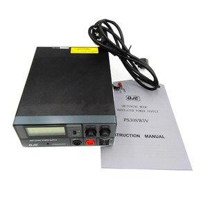 Image 4 - Conversor de alta eficiência dc 220v, conversor de PS 30SW iv 13.8v 30a interruptor fonte qje ps30sw iv para rádio de carro TH 9800 KT 8900 kT 7900D