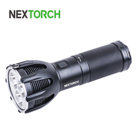 NEXTORCH 5600 Lumens Ultra long Throw Rechargeable Search Torch Waterproof High Output Handheld Torch with US Charger ST 30