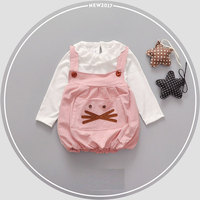2017 Spring Newborn Baby Girl Baby Clothes Dress Costume For Infant Baby Girl Clothing Brand Cotton