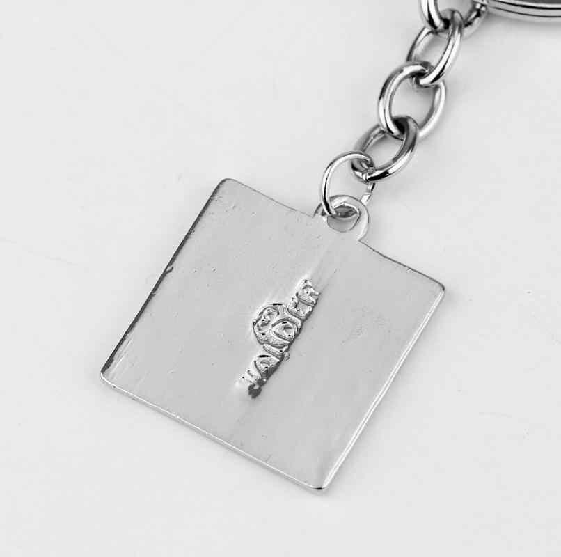 DOTA 2 классический логотип брелок Подвески для ключей кольца для женщин мужчин игровые ювелирные изделия