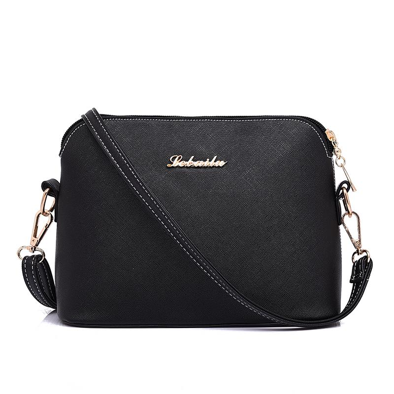 Hot Sold Mini Women Messenger Bags Shell Shaped Cross Pattern Good Quality Women Bag With famous brands Q5