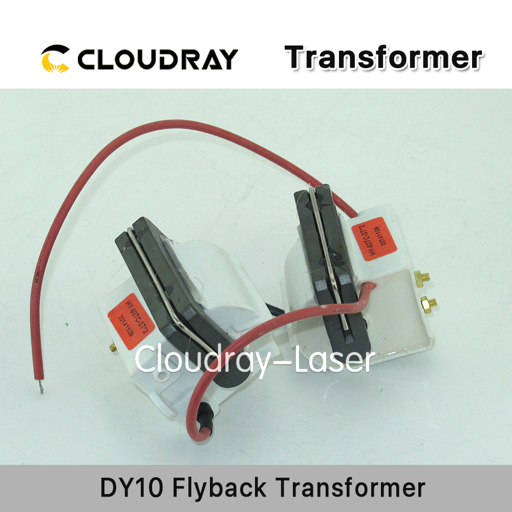 Cloudray High Voltage Flyback Transformer for RECI DY10 Co2 Laser Power Supply цена 2017