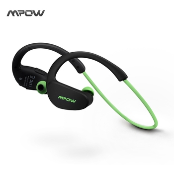 Mpow MBH6 Cheetah 4.1 Bluetooth Headset Headphones Wireless Headphone Microphone AptX Sport Earphone for iPhone Android Phone