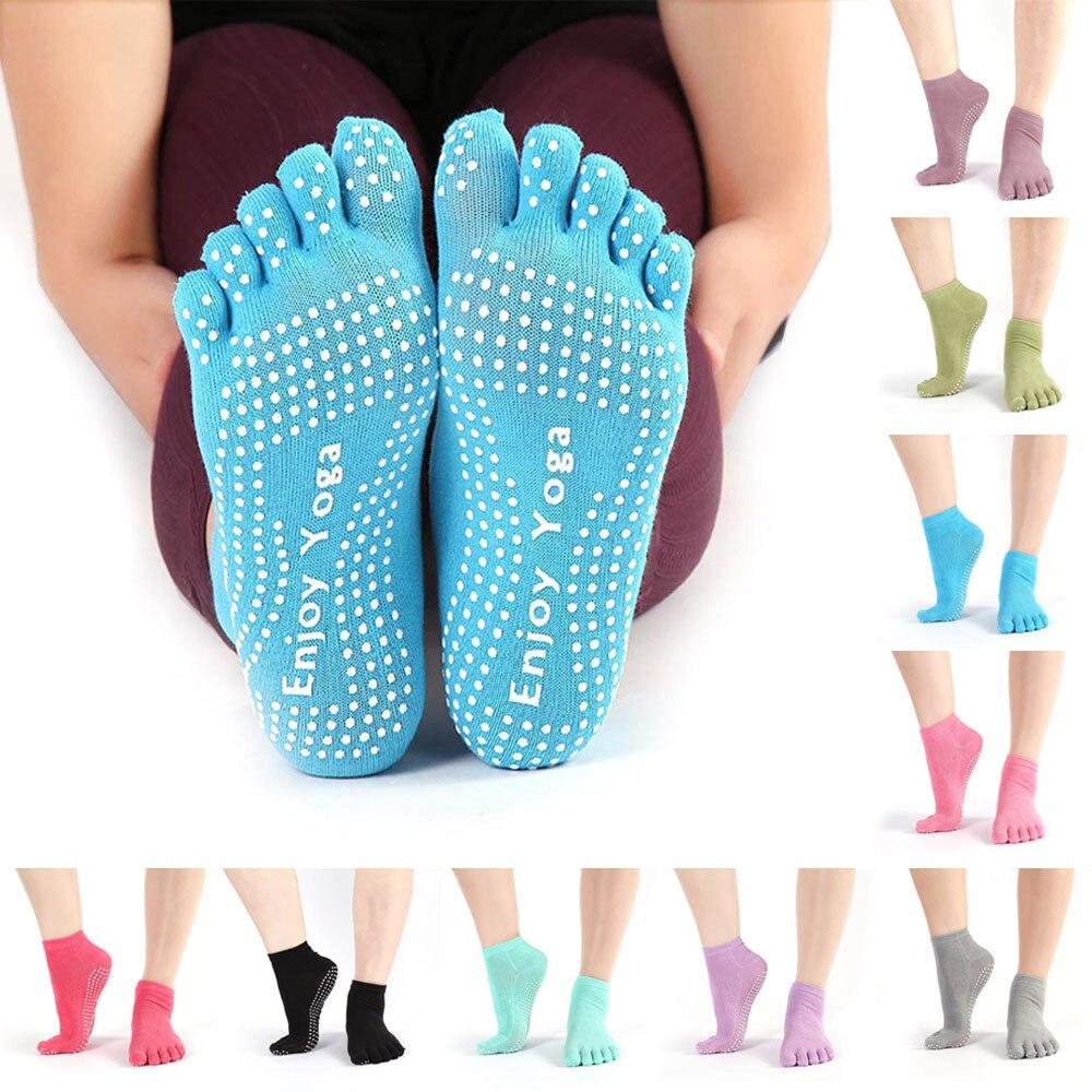 Grip Exercise Gym Non Slip Cotton Pilates Massage Ballet Socks Yoga Socks New