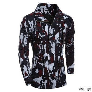 camuflaje nueva chaquetas abrigos otoño estilo primavera único 2018 6nTCqxT