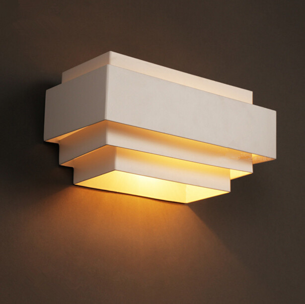 Simple Modern Living Room Bedroom Bedside Iron Wall Lamp Creative Personality Corridor Balcony LED Light Free Shipping wall light 12w led wall lamp bedroom bedside living room hallway stairwell balcony aisle balcony lighting ac85 265v hz64