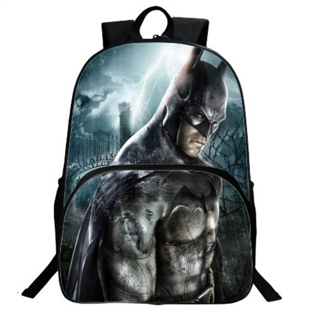 Batman Backpack School Backpack Daily Backpack Teens Boys Girls Batman Bruce School Bags Gift Bag ...