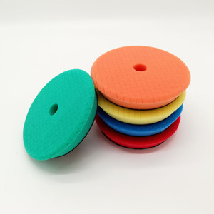 Image 5 - 6/7 Inch Foam Polishing Pad for Car polisher 180mm sponge waxing pad for car Care Accessories Green Heavy Cutting Pad
