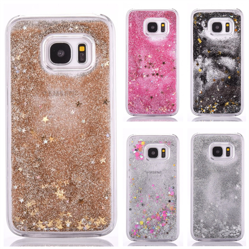 Glitter Liquid Case For Samsung Grand Prime A5 A7 J5 J7 2016 Case Cover For Samsung Galaxy Core Prime Hard Coque Etui Capinhas ...