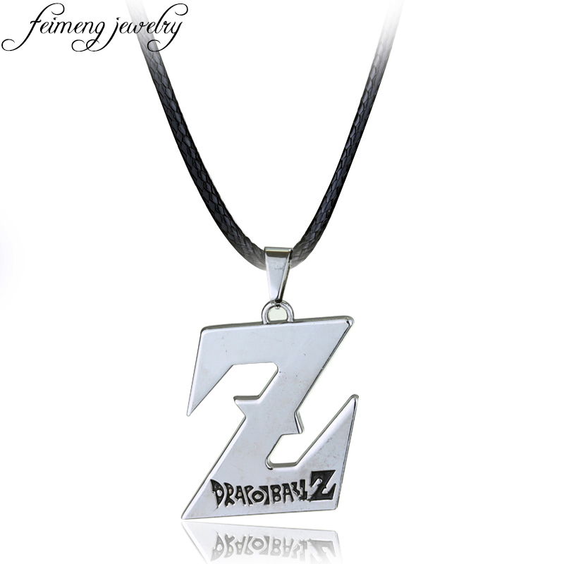 Mens necklace Classic Anime Dragon Ball Necklace Dragonball Z Logo Pendant Necklaces For Men Women Fashion Jewelry Collar Accessories