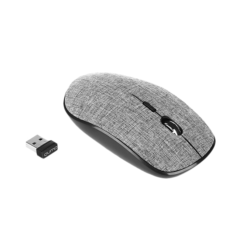 Мышь Qumo Office M46 Ecru (23755)