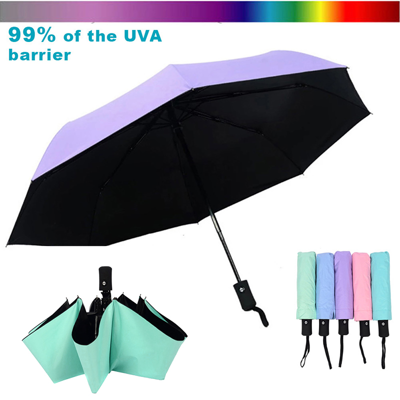 Wind Resistant Folding Automatic Umbrella Windproof Travel Rain Sun Umbrellas with Auto Open Close Button TB Sale