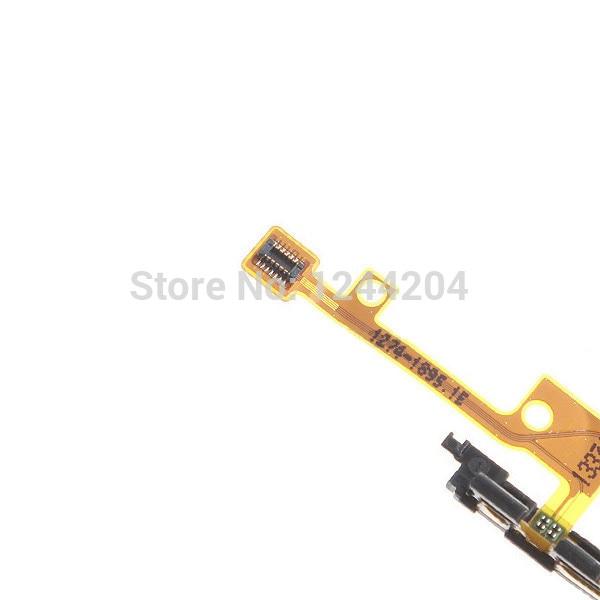 מקורי החלפת מקש הפעלה מקש עוצמת הקול כפתור להגמיש כבלים עבור Sony Xperia Z1 Compact Z1 mini M51w D5503 משלוח חינם