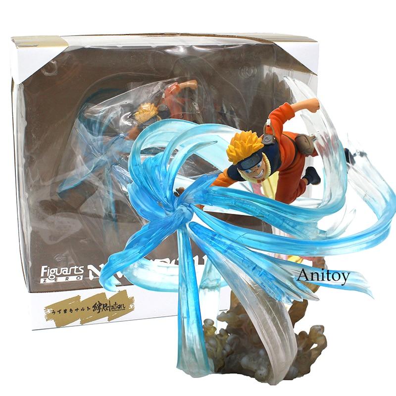 Anime Naruto Shippuden Figuarts ZERO Uzumaki Naruto PVC Action Figure Collectible Model Toy 21cm цена