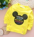 (1piece /lot) 100% cotton 2016 cute   outwear for baby boy and girl clothes (0-3 year old )