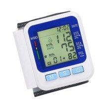 ЖК-Цифровой Наручные Монитор Артериального Давления Heart Beat Частоты Пульса Метр Меру BP507