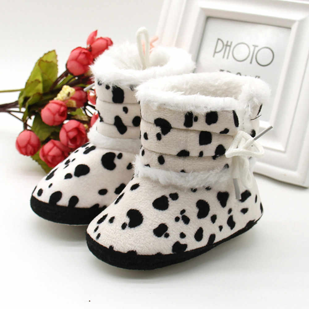 Fashion Newborn Baby Ttipsietoes Kids Shoes Soft Crib Shoes Toddler Boots  Booties Snow Boots Infant Newborn Copodenieve Shoes