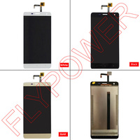 For Oukitel K6000 PRO LCD Display Touch Screen Digitizer LCD Screen Glass Panel Black White And