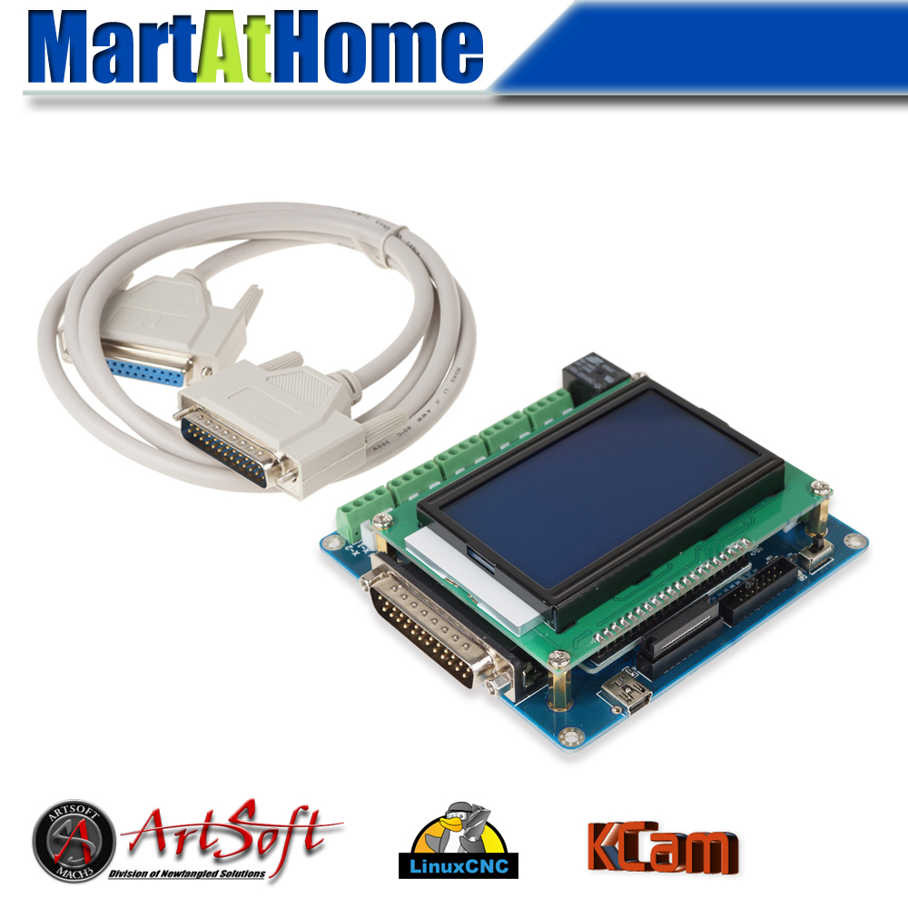Professional 5 Axis CNC Breakout Board Interface w/ LCD Digital Display Support Mach3/EMC2/KCAM4 #SM598 @SD