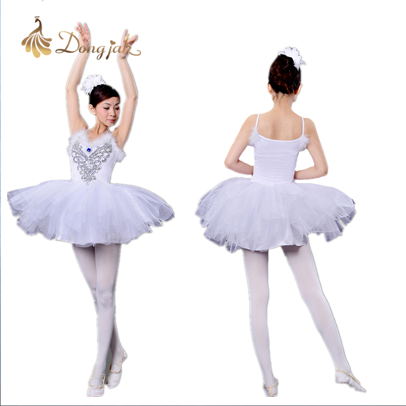 Adult Fata de balet Dance Rochie Feather costum Swan Lake Haine Fusta - Imbracaminte sport si accesorii