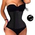 Mulheres trainer cintura osso de aço super stretch hot body shaper cintura cincher tummy controle corset cinto de emagrecimento queimador de gordura cinto