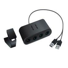 2 в 1 контроллер GameCube адаптер конвертер для Wi i U PC для WiiU для rend переключатель для NS