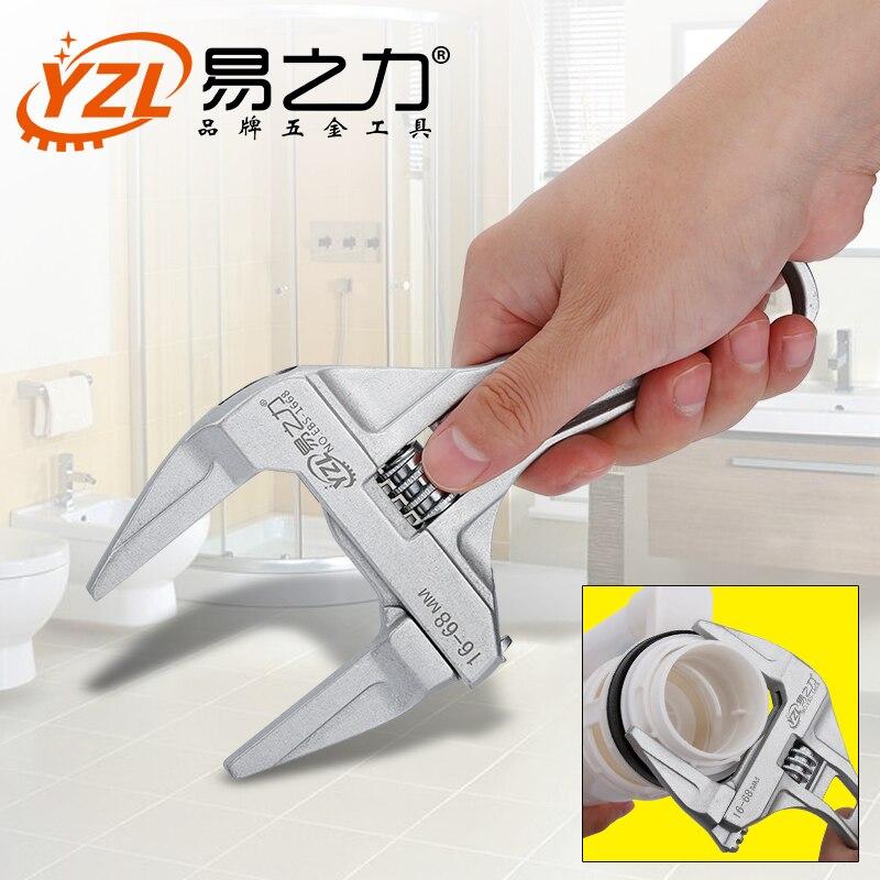 1 stücke Einstellbar Spanner Universal Schlüssel Mutter Schlüssel Hause Hand Werkzeuge Multitool Hohe Qualität
