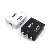 1080P HDMI Mini VGA to RCA AV Composite Adapter Converter with 3.5mm Audio VGA2AV / CVBS + Audio to PC HDTV Converter Phone Adapters & Converters