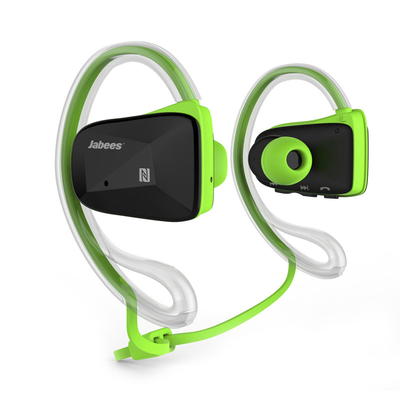 Jabees BSport Bluetooth Earphone V4.1 waterproof Sports Stereo Headphones with NFC ATPX for Running Jogging Fitness Cycling bluetooth headphones original jabees bsport bt4 0 headset wireless waterproof earphone earbuds audifonos for running biking