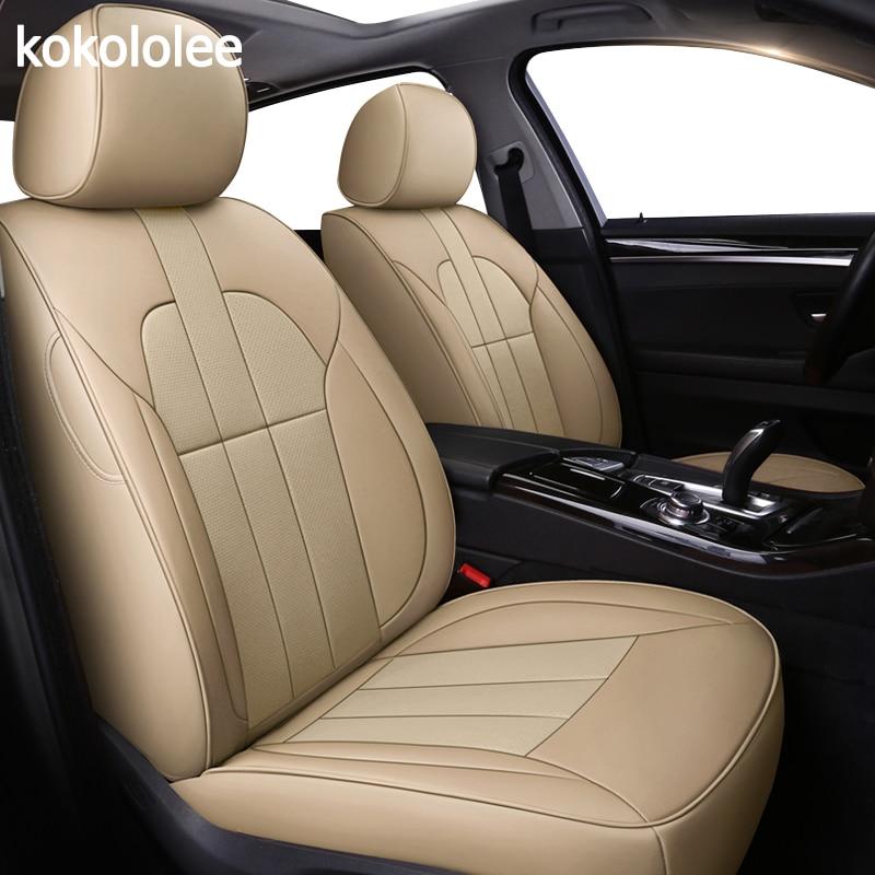 Kokololee personalizzato in vera pelle copertura di sede dell'automobile per mercedes BENZ Viano ML GLK GLA GLE GL CLA CLS S R UN B CLK SLK G GLS GLC auto