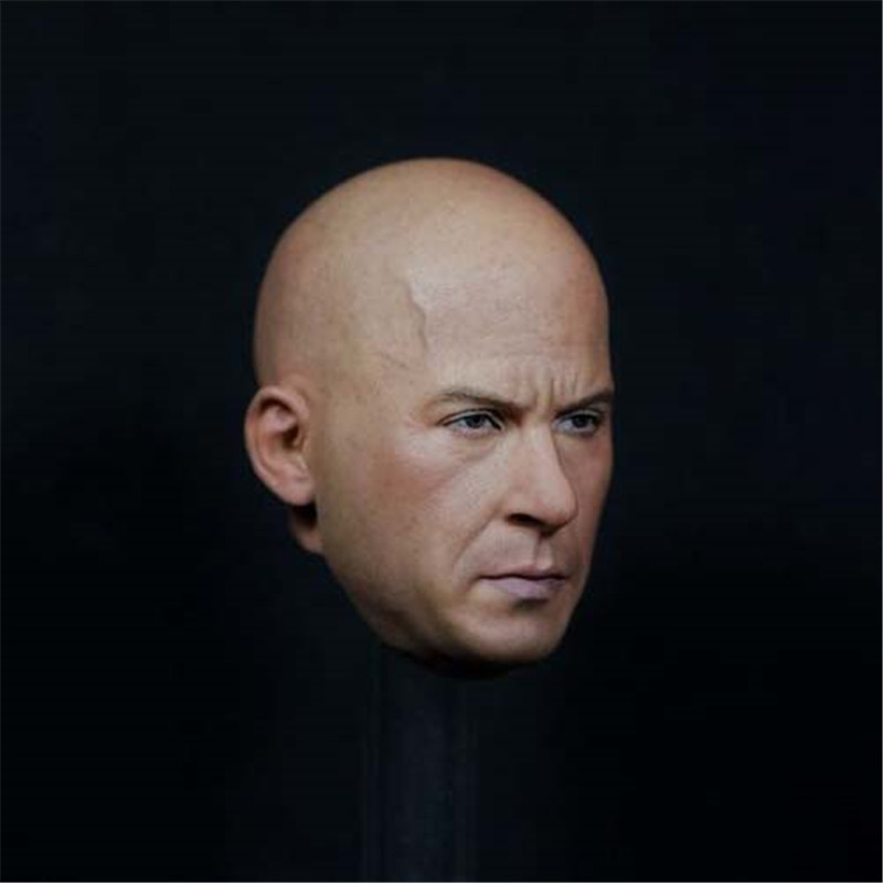 Mnotht Head Sculpt 1/6  Solider Fast & Furious Dicer 2.0 Agent Head Sculpt Model For 12in Action Figures Toys l30 mnotht head sculpt 1 6 solider head model mk42 mk43 iron man toni carved head for 12in figures toys and body l30