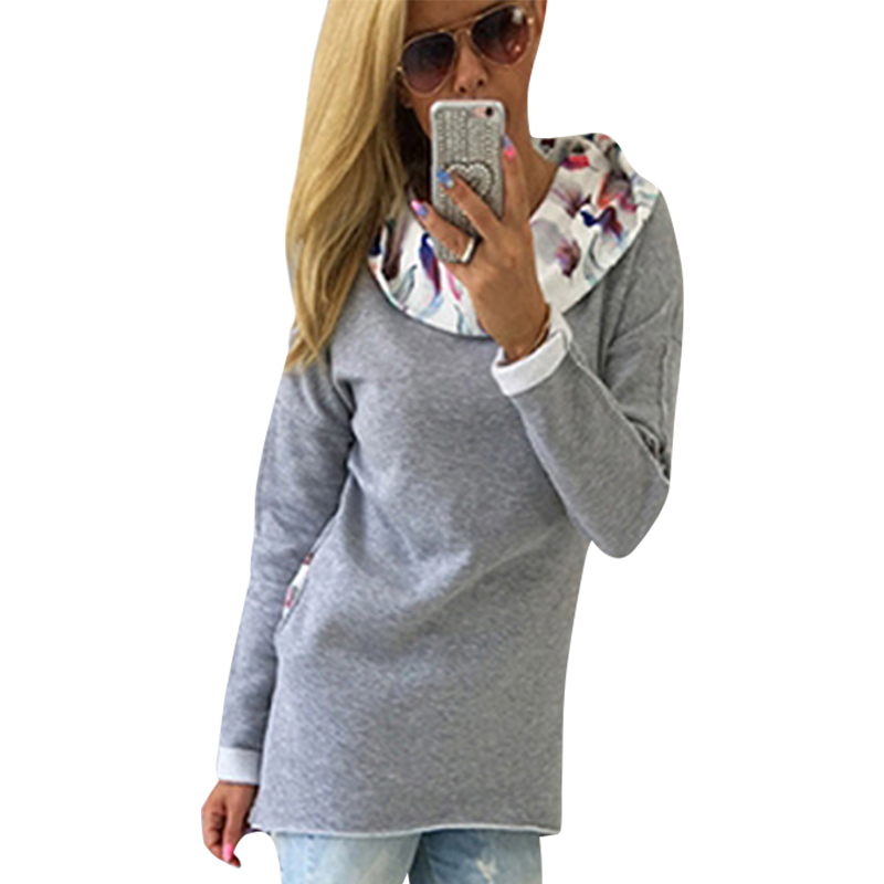 Women Hoodies Sweatshirt Long Sleeve Women Sweatshirt Female Mujer LJ5317M ...