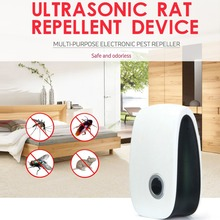 Ultrasonic Electronic Mosquito Repeller Anti Pest Bug Mosquito Cockroach Mouse Killer Pest Control Products EU/US/AU Plug