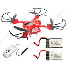 Free Shipping! MJX X400 Red 2.4G RC Quadcopter Helicopter&C4005 WiFi FPV Cam +extral 1 battery