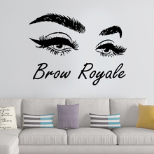 Exquisite Brow Wall Stickers Home Furnishing Decorative Sticker for Living Room Company School Office Decoration