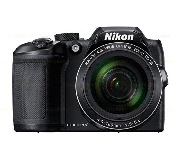 Nikon coolpix b500 16.0 mp câmera digital com zoom de 40x-full hd wifi/nfc preto